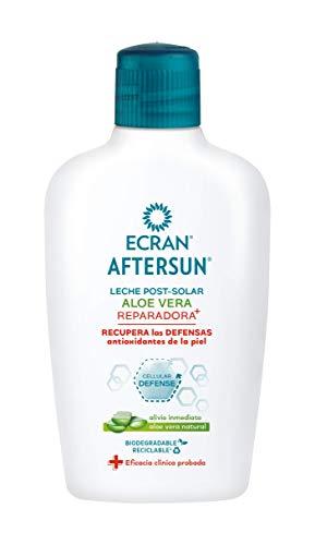 Ecran - Aftersun Leche Post Solar Hidratante y Reparadora con Aloe Vera Natural - 200 ml