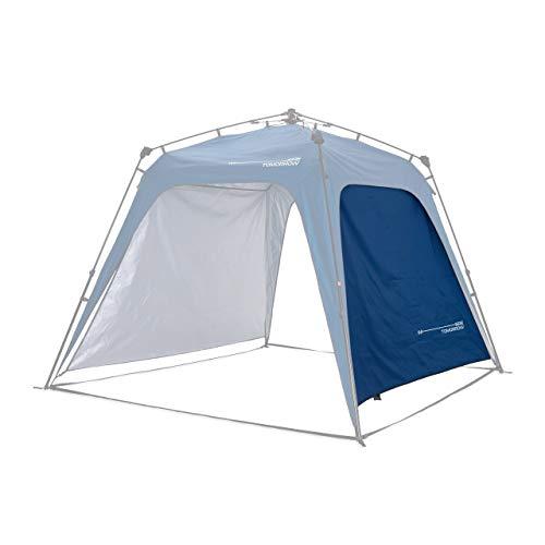 Where Tomorrow Pared Lateral Adicional para Gazebo de Camping - Carpa Plegable para Acampada, Jardín o Terraza – Cenador Impermeable para Exteriores – 2.5 x 2.5 x 1.9 Metros / Azul