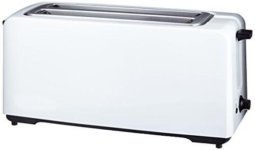 Amazon Basics - Tostadora automática (1400 W, 4 rebanadas), color blanco