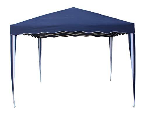 KG KITGARDEN - Carpa Plegable 3x3 Multifuncional, Azul/Blanco, Deluxe AZ
