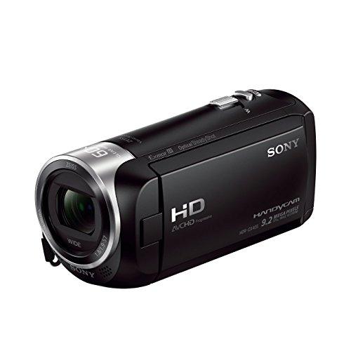 Sony Handycam HDR-CX405 - Videocámara de 9.2 Mp (pantalla de 2.7', zoom óptico 30x, estabilizador óptico, vídeo Full HD), negro