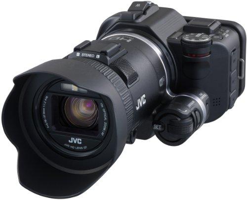JVC GC-PX100BEU - Videocámara Full HD (12.8 MP, WiFi, Pantalla 3', HDMI), Color Negro