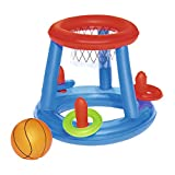 Bestway 52190 - Canasta Hinchable Baloncesto Game Center Ø61 cm