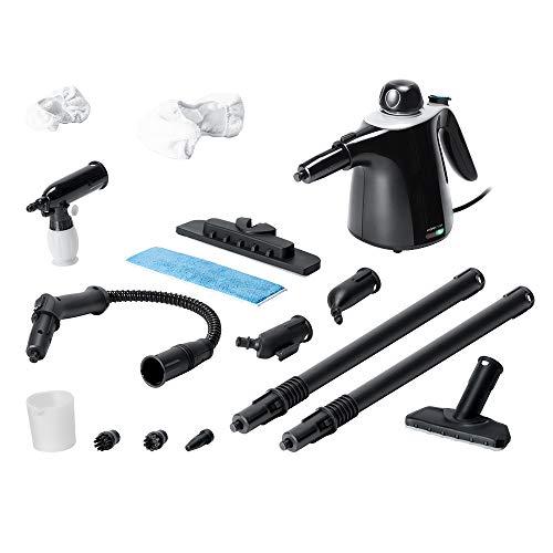 Cecotec Vaporeta de Mano HydroSteam 1040 Active&Soap. Potencia máx 1100W, Depósito 450 ml, 3,5 Bares de presión, 40 gr/min caudal de Vapor
