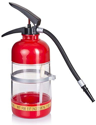 VENKON–Dispensador de bebidas extintor Diseño de para el frío Bebidas Alcohólicas o suave–1.5L–rojo/negro