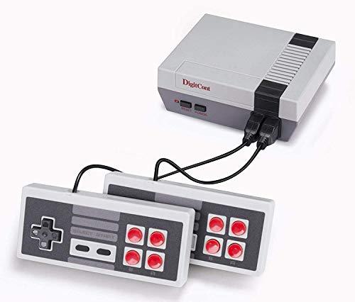 DigitCont Consola Retro, Plug & Play Classic ini 2ND Gen Consola incorporada, con 621 Juegos Retro clásicos para 2 Jugadores, Modo Consola de TV Salida de Memoria de la Infancia