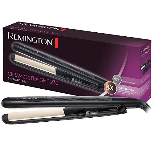Remington S3500 Ceramic Slim, Plancha de Pelo, Negro