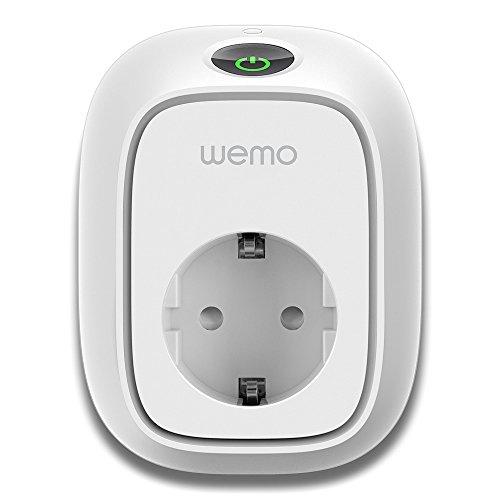 Belkin F7C029EA - Interruptor WEMO Insight domótica para Consumo energético, Blanco