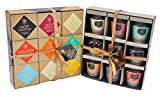 Set de regalo Duo Coffee and Hot Chocolate - Set de regalo de chocolate y café con sabores para Navidad