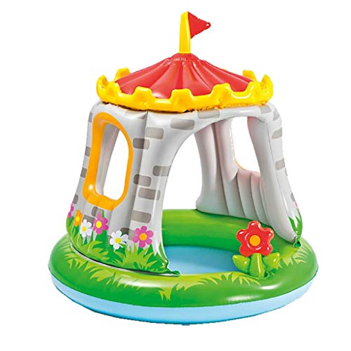 Intex 57122NP - Piscina hinchable castillo & flor 122 x 122 cm 74 litros