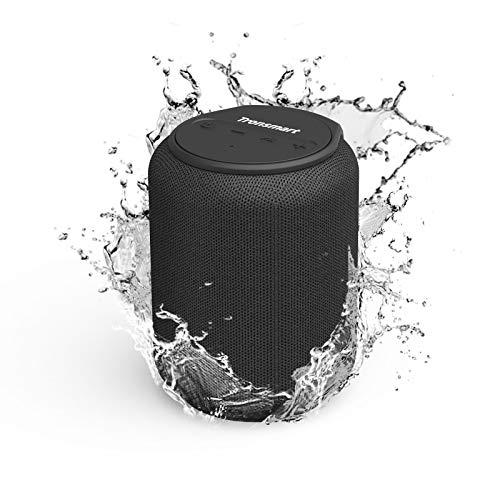 Tronsmart T6 Mini Altavoces Bluetooth 15W, 24 Horas de Reproducción, Sonido Stereo 360°, IPX6 Waterproof, Altavoz portatil Bluetooth 5.0, Apoya TF Card Memoria USB de 64G y Asistente de Voz