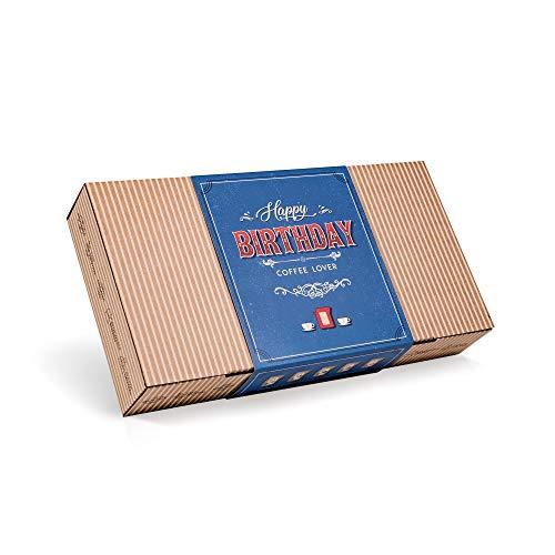 Caja de Cafe Gourmet Para Cumpleaños - Paquete de Degustación con 10 de Los Mejores Cafés Molidos Orgánicos Del Mundo | Para Prepararlo y Disfrutar Donde y Cuando Quiera | Regalo Para Hombre y Mujer