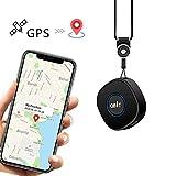 Lncoon Mini Localizador GPS con Aplicación Gratuita para Android iOS/Rastreo GPS en Tiempo Real/Geo-Cerca/Alarmas SOS/Conversación bidireccional, Portátil GPS Tracker para Niños Adultos Mayores