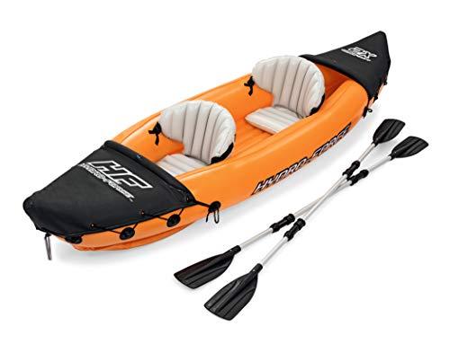 Bestway 8321401 Flotador Kayak Semirigido 330 x 94 cm. 2 Personas MAX. 160 Kg. con Remos, Unisex-Adult, Multicolor, One Size