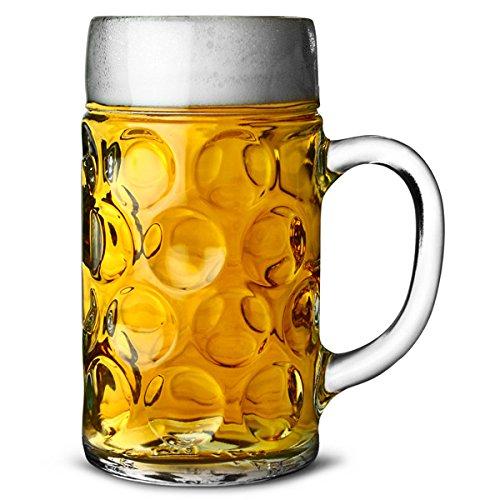BebeStuff 04533/80 Alemán 2 Pints Glass Tankards