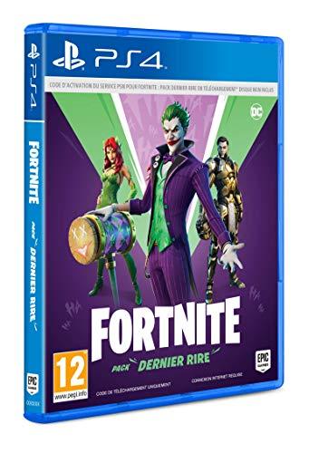 Warner FORTNITE Pack DERNIER Rire - PS4