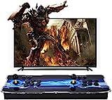 SeeKool Consola de Videojuegos, 3D Pandora X Multijugador Home Arcade Game Console, con 2500 Juegos Retros, Soporte de Tarjeta TF+USB DIS, para PC / Ordenador portátil / PS3/ TV