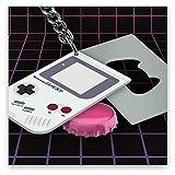 Paladone GIFPAL212 Llavero Abrebotellas Game Boy, Aluminio, Multicolor, 10x1x6 cm