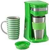 Hoberg D2002090 /95/85 Máquina de café individual, Verde