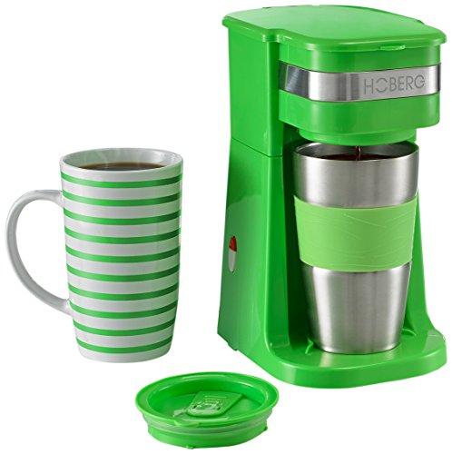 Hoberg D2002095 Máquina de café individual, Verde