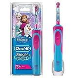 Oral-B Stages Power Kids Cepillo de Dientes Eléctrico con los Personajes de Frozen, Azul, Rojo