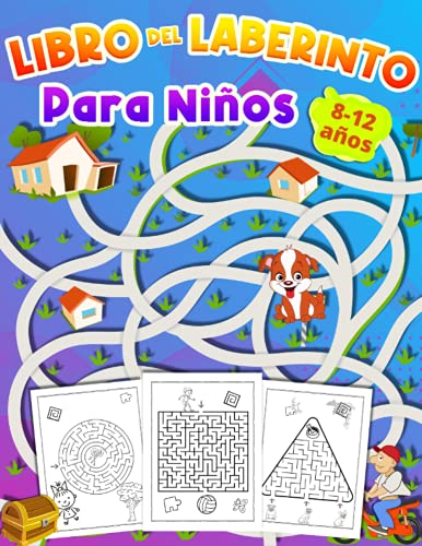 Libro Del Laberinto Para Ninos 8-12 años: Cuaderno de Laberintos para Niños 6 – 10 años | libro de actividades para niños de 9 a 12 años| regalo para ... años|grand pasatiempo para chicos y chicas.
