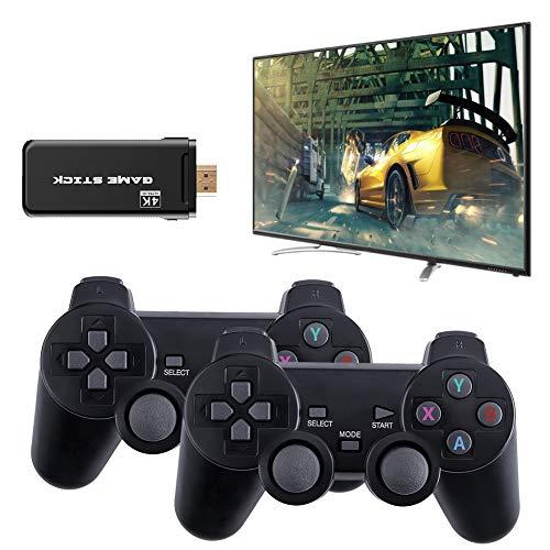 Oyria Wireless Game Joystick Controller, Consola inalámbrica USB Game Stick Consola de Videojuegos Mini Controlador Retro de 8 bits Salida HDMI Reproductor Dual Incorporado 3500 Classic Game