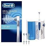 Oral-B Oxyjet - Sistema De Limpieza Irrigador Bucal Con Tecnología Braun, 4 Cabezales Oxyjet