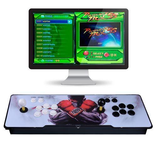 consola arcade retro 2 jugadores