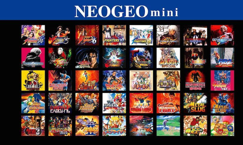 juegos neo geo mini