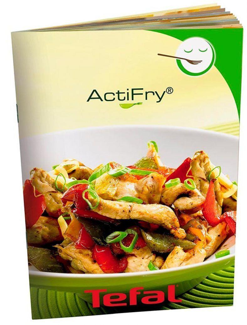 Tefal Actifry Express Snacking libro recetas