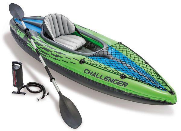 kayak hinchable 1 persona Intex Challenger K1
