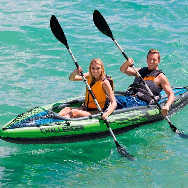 kayak hinchable 2 personas Intex Challenger K2