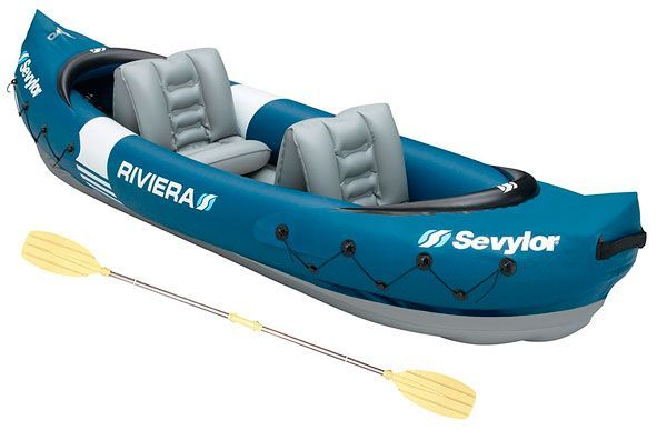 kayak hinchable 2 personas sevylor riviera