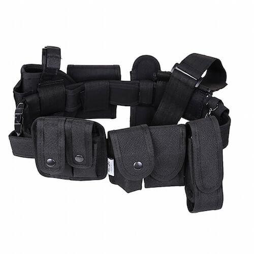 cinturón con bolsillos