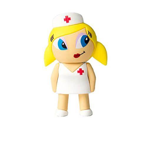 memoria usb enfermera