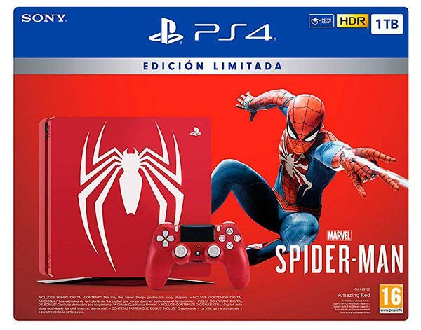 pack PS4 Spiderman