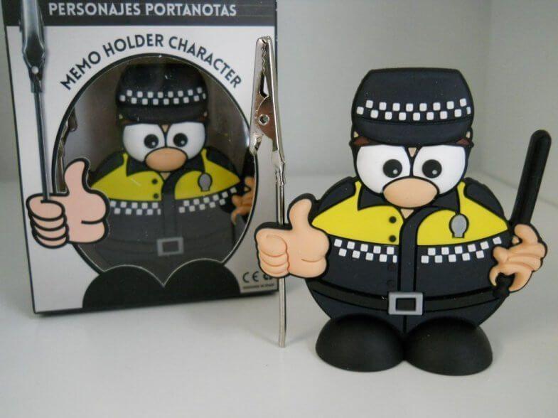 portanotas policia
