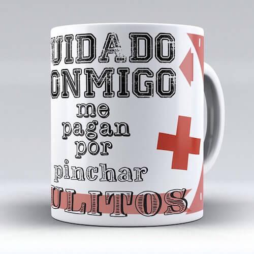 taza cuidado conmigo para enfermeras