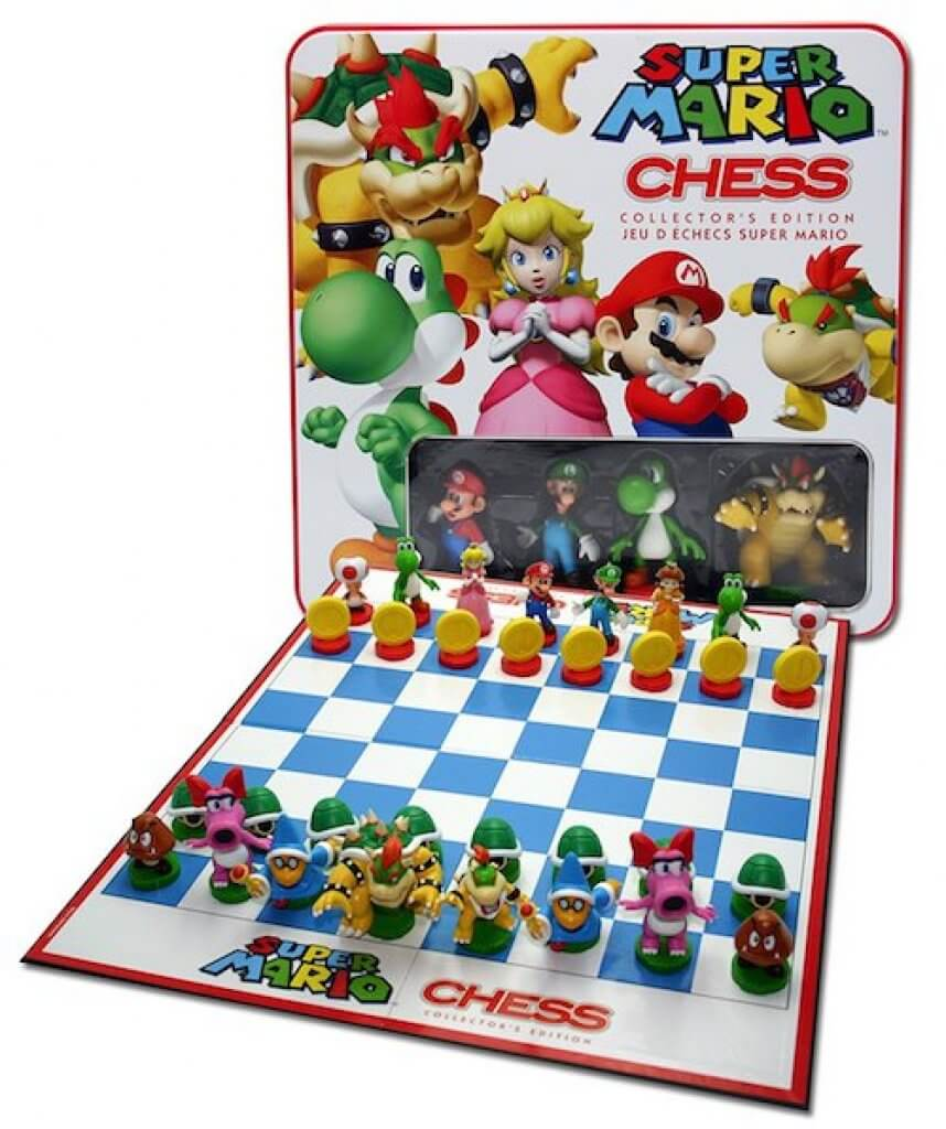 ajedrez super mario