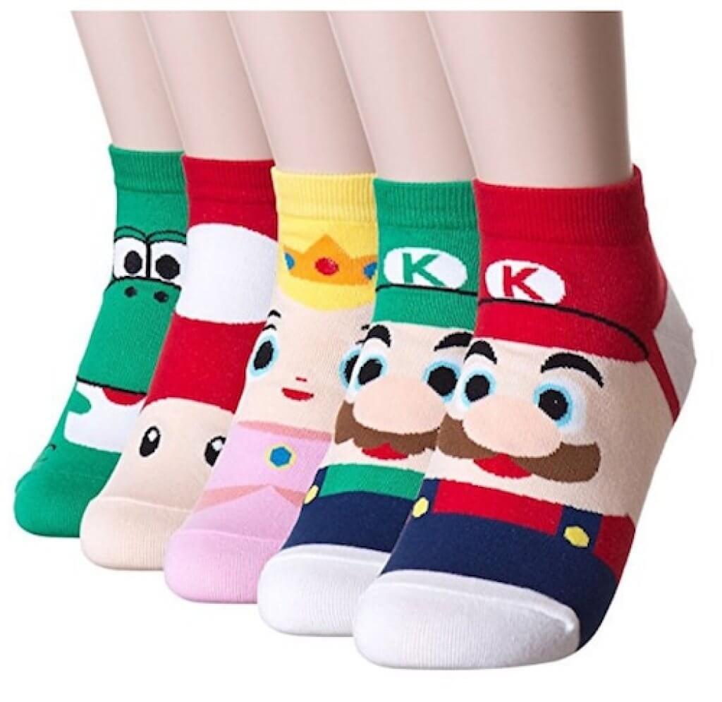 calcetines mario bros