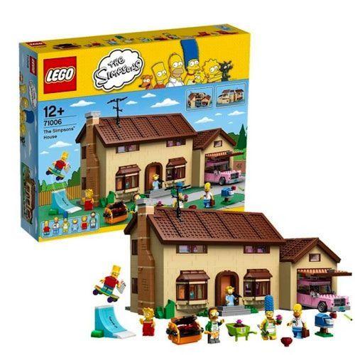 casa simpsons lego