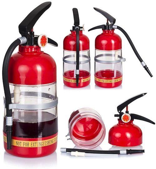 extintor dispensador bebidas