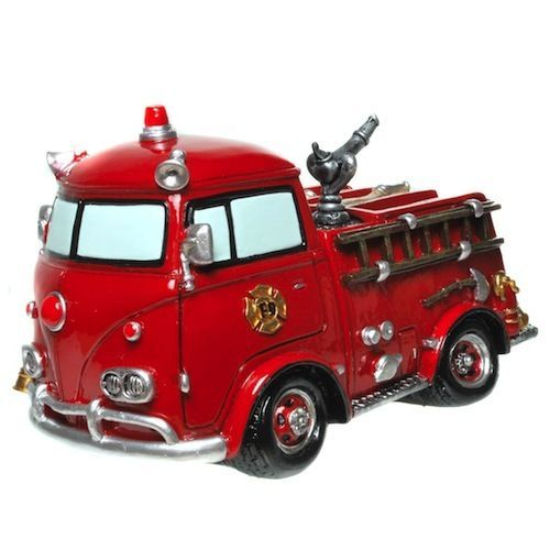 hucha camion bomberos