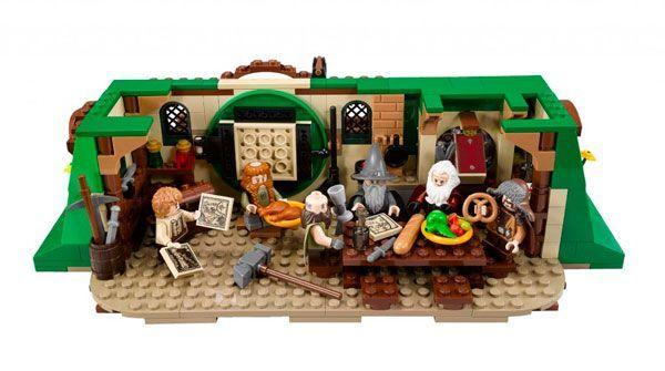 lego hobbit gandalf señor de los anillos