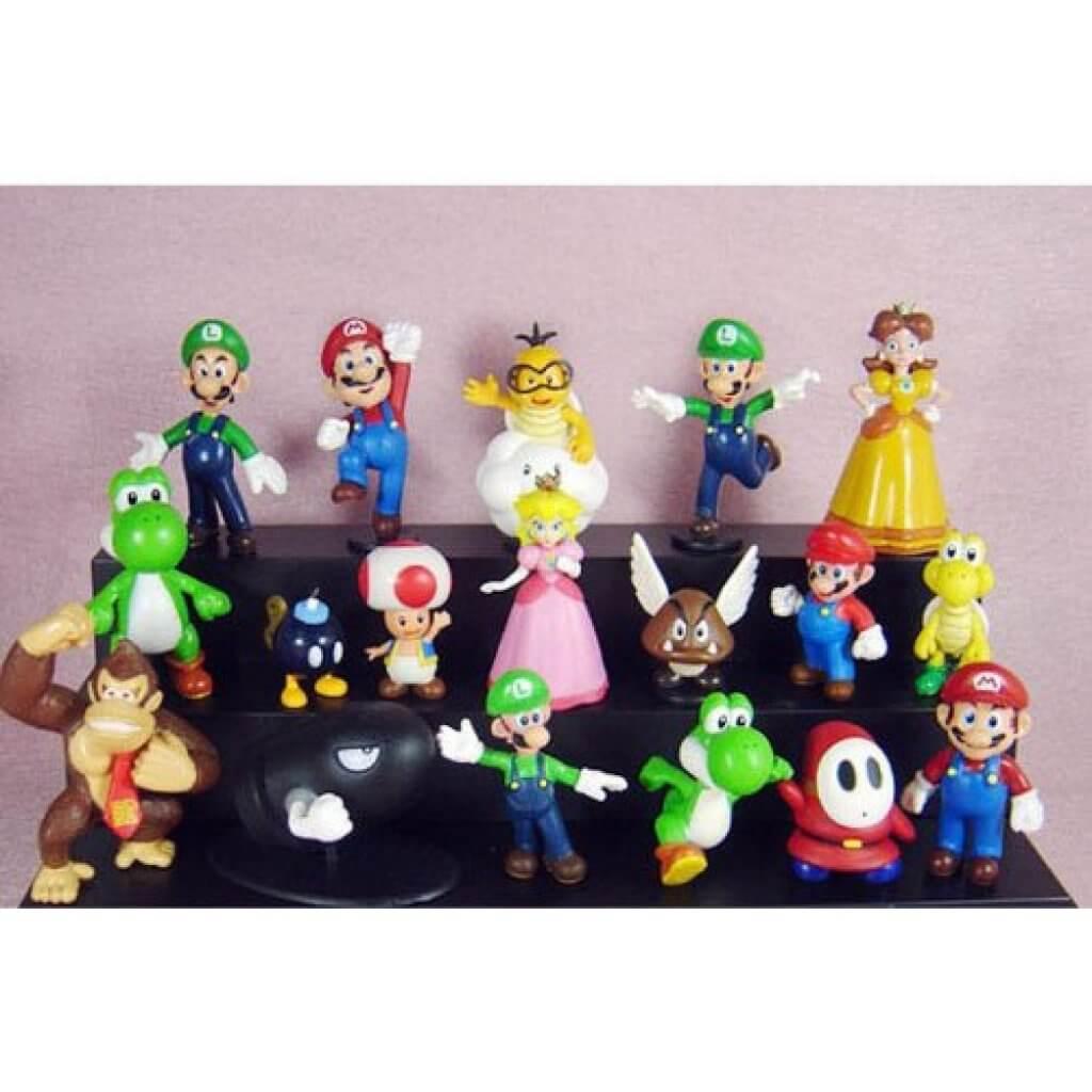 pack figuras Mario Bros
