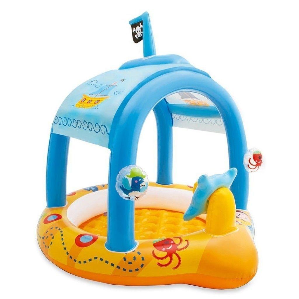 piscina hinchable barco bebe