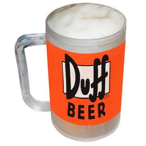 taza cerveza duff los simpsons