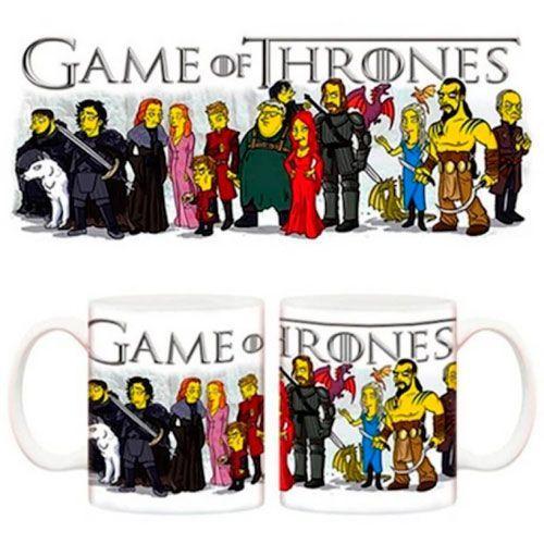 tazas juego de tronos los simpsons