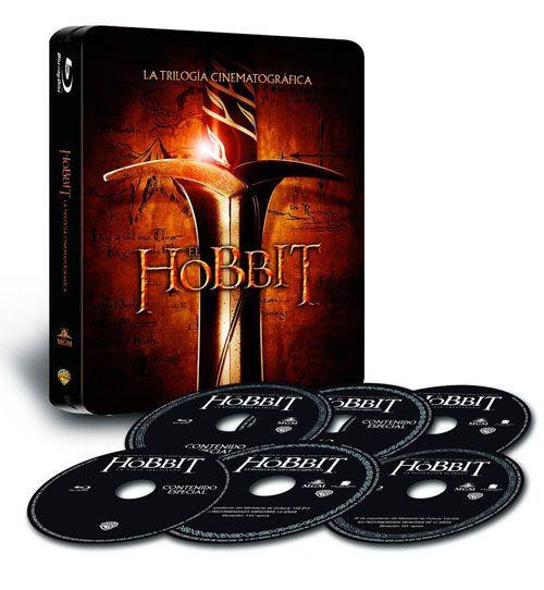 trilogia blu-ray el hobbit